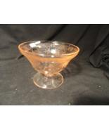 Pink Florentine Depression Glass Candy Bottom M... - $34.99