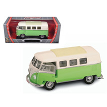 1962 Volkswagen Microbus Light Green 1/18 Diecast Car Model by Road Sign... - $87.53