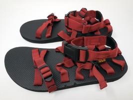 b1bdd355f425f New Teva Alp Hiking Sandals Red Upper Webbing Casual Men  39 s Us 9M