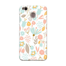Cute Pastel Shabby Chic Floral Xiaomi Redmi 4X Hard Case Cover - $323,24 MXN
