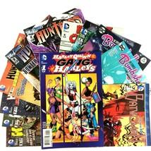 DC Female Super Hero 12 Comic Lot Harley Quinn Batwoman Huntress Black C... - $29.65
