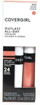 1 Covergirl 593 Nude Outlast 24hr All Day Colorcoat & Moisture Topcoat L... - $13.99