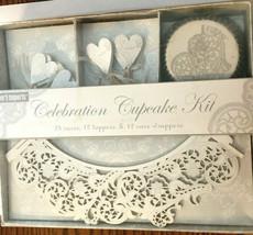 Meri Meri Designers Wedding Celebration Cupcake Kit For Pier 1 Imports S... - $19.37
