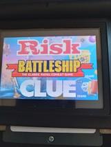 Nintendo Game Boy Advance GBA Battleship/Risk/Clue image 1
