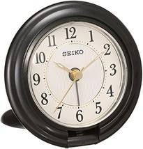 SEIKO CLOCK ( Seiko clock ) portable tiger Bella clock ( black ) QQ637K - $68.98