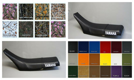 Yamaha TW200 Seat Cover 1987-2012 in 25 COLOR OPTIONS  (PS / Yamaha on sides) - $44.95