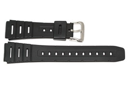 3 Pieces 19mm Black Rubber Resin Sport Watch Band Strap - $12.38