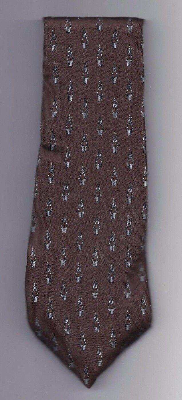 "Mens Geoffery Beene 100% silk Neck Tie 58"" long 3 1/2"" wide #6 Necktie"