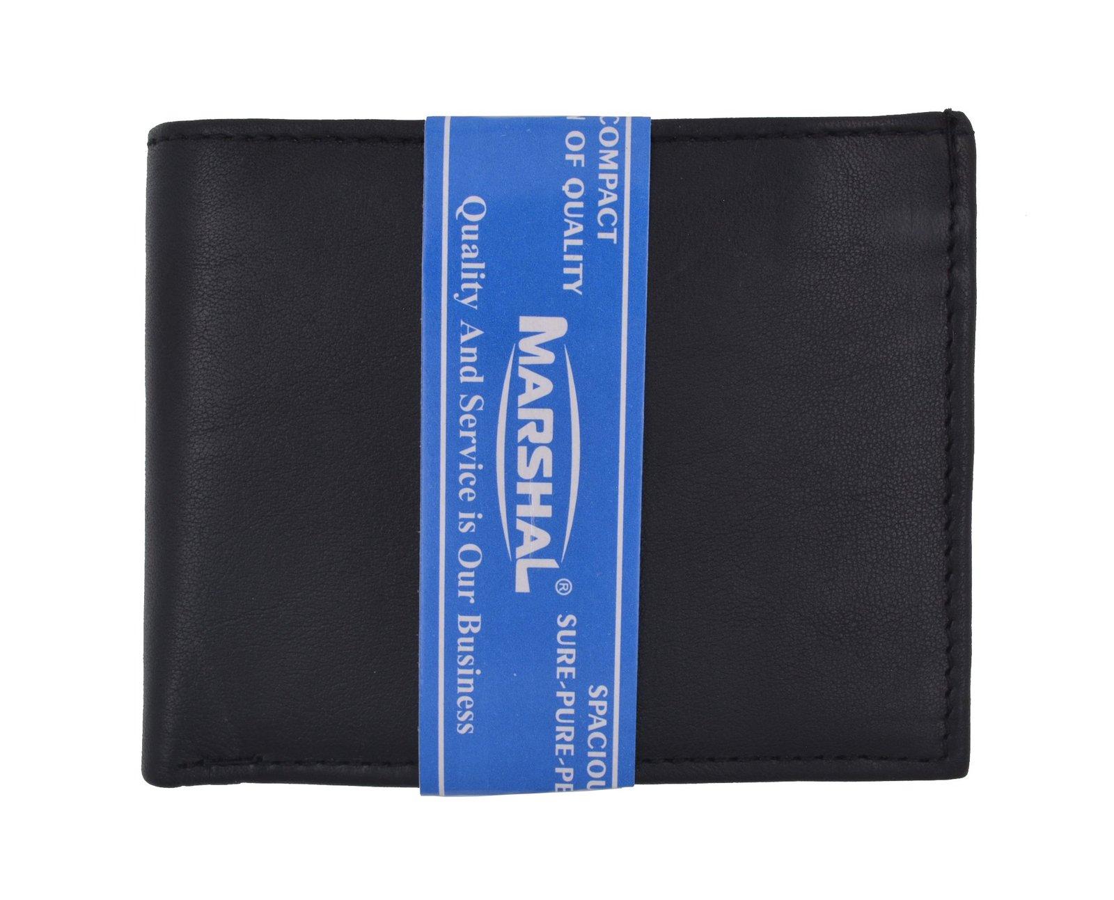 Moga Slim Compact Genuine Leather Key Holder Wallet Pouch for Men /& Women
