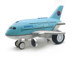 Bandi Toys Melody Light Dream Air 877 Airplane Plane Aircraft Manual Vehicle Toy