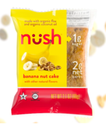 Keto snacks: Nush low carb banana nut cake 6 ct (2 net carbs) - $29.21