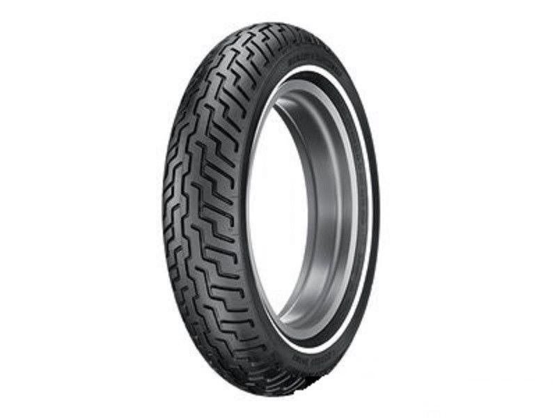New Dunlop D402 Front Slim Whitewall SW Tire MT90HB16 Tubeless