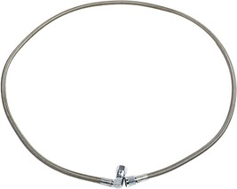 """60"""" Steel Braided Turbo Oil Feed Line -4AN 90 Degree & Straight End Teflon Core image 9"""