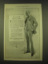 1918 Hart Schaffner & Marx Fashion Ad - Put on your fighting clothes - $14.99