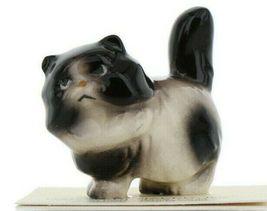 Hagen Renaker Miniature Cat Fat Black and White Ceramic Figurine image 10