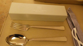 "unused genuine Thomas O'Brien Reed & Barton 12"" Spoon & Fork Set NIB & P... - $39.99"