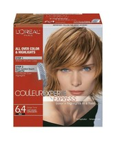 L'Oreal Paris Couleur Experte Express 6.4 Red (Ginger Twist) Color + Highlights - $45.00