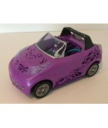 Monster High Scaris City Of Frights Convertible Car Purple Seatbelts Trunk - $14.99