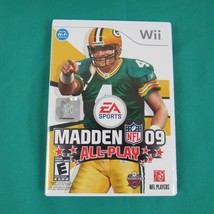 Madden NFL 09: All-Play (Nintendo Wii, 2008) Tested Work - $12.82