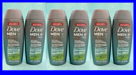 6 Dove MEN CARE Fortifying 2in1 SHAMPOO + CONDITIONER Minerals Sage TRAV... - $11.85