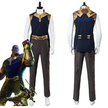 Avengers 3:Infinity War Thanos Cosplay Costume Full Set Adult Outfit - $123.40+