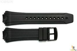 Citizen Eco-Drive BN0095-08A Black Rubber Watch Band Strap BN0095-08E image 3