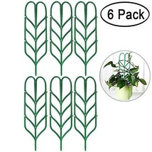 Aniann Garden Trellis for Mini Climbing Plants, Leaf Shape Potted Plant ... - $19.14
