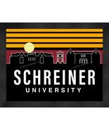 Schreiner University Mountaineers 13x16 Uscape with Retro Skyline Framed... - $39.95