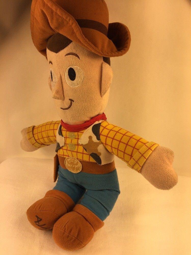 """Disney Pixar Toy Story Woody Plush Cowboy Rag Doll Stuffed Toy 18"""""""