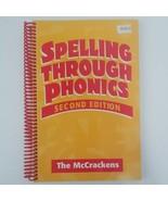 Spelling Through Phonics by McCracken, Robert|McCracken, Marlene (Spiral... - $27.00