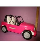 Barbie Cruiser Dark Pink SUV Pink Jeep Ford Escape Similar Car 4X4 Vehic... - $25.00
