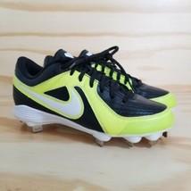 cheaper de0db dad97 Nike Unify Strike Women  39 s Softball Cleats Size 6.5 Yellow Black Metal Sp