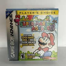 Super Mario Advance (Nintendo Game Boy Advance, 2001) - CIB! - $54.40