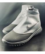 NEW Nike Lunar Vaporstorm BOA WaterProof Grey Golf Shoes 918622-003 Size... - $79.19
