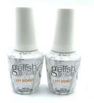 Harmony Gelish Soak-Off 2PC P H Bond Dehydrator(Nail Prep)0.5oz / 15ml Free Ship-$ 14.55