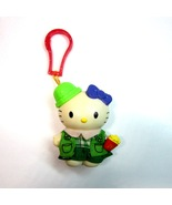 2000 Sanrio HELLO KITTY as Girl Scout Purse Luggage Backpack Bag Clip-On - $6.99