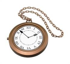 Jumbo Clock Medallion,  1990s Rapper, Bling, Oversized Jewellery Fancy D... - $5.95