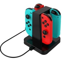 Charging Dock Stand for Nintendo Switch Joy-Con Controllers with Indicator - $14.84