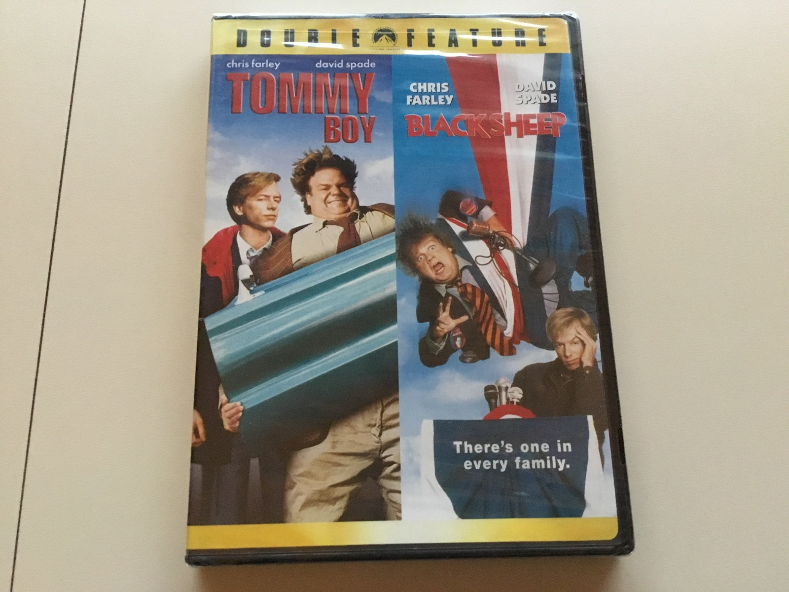 Primary image for DVD - Tommy Boy / Black Sheep - NEW & Sealed - Widescreen Edition - Chris Farley