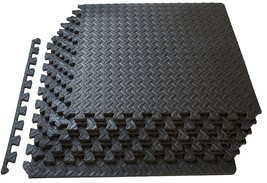 ProSource fs-1908-pzzl Puzzle Exercise Mat EVA Foam Interlocking Tiles (... - $26.60