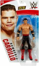 Mattel WWE Basic Series 115 Humberto Carrillo Black & Red Outfit Action Figure - $11.95