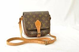 LOUIS VUITTON Monogram Cartouchiere PM Old Model Shoulder Bag M51254 Aut... - $280.00