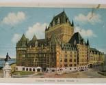 Chateau Frontenac Quebec Canada Postcard A8