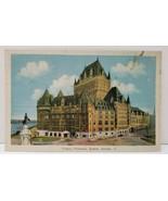 Chateau Frontenac Quebec Canada Postcard A8 - $3.95