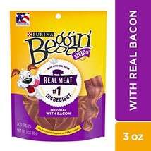Purina Beggin' Made in USA Facilities Dog Training Treats, Strips Origin... - $31.78 CAD