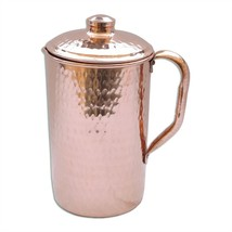 Copper Jug Pitcher for water storage Ayurveda health benefit - $39.26