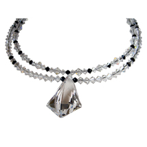 Double Strand Crystal Vibe Necklace image 1