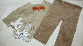 """18"""" doll clothes hand made outfit shoes Semper Fi top shirt sneakers pants - $12.86"""