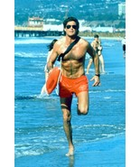 David Hasselhoff iconic running along beach as Mitch from Baywatch 18x24... - $23.99