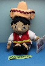 Walt Disney Store And Parks Mini Bean Bag Mexico Boy Of It's A Small Wor... - $9.89